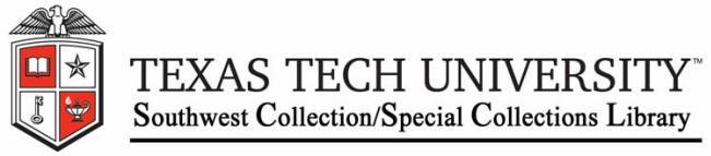 Reference List Texas Tech University